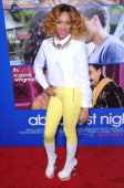 Rapper Lil' Mama attends the Pan African Film Arts Festival premiere of 'About Last Night' on February 11 2014 at ArcLight Cinemas Cinerama Dome in...