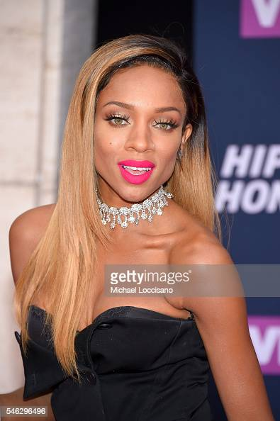 Rapper Lil Mama attends the VH1 Hip Hop Honors All Hail The Queens at David Geffen Hall on July 11 2016 in New York City