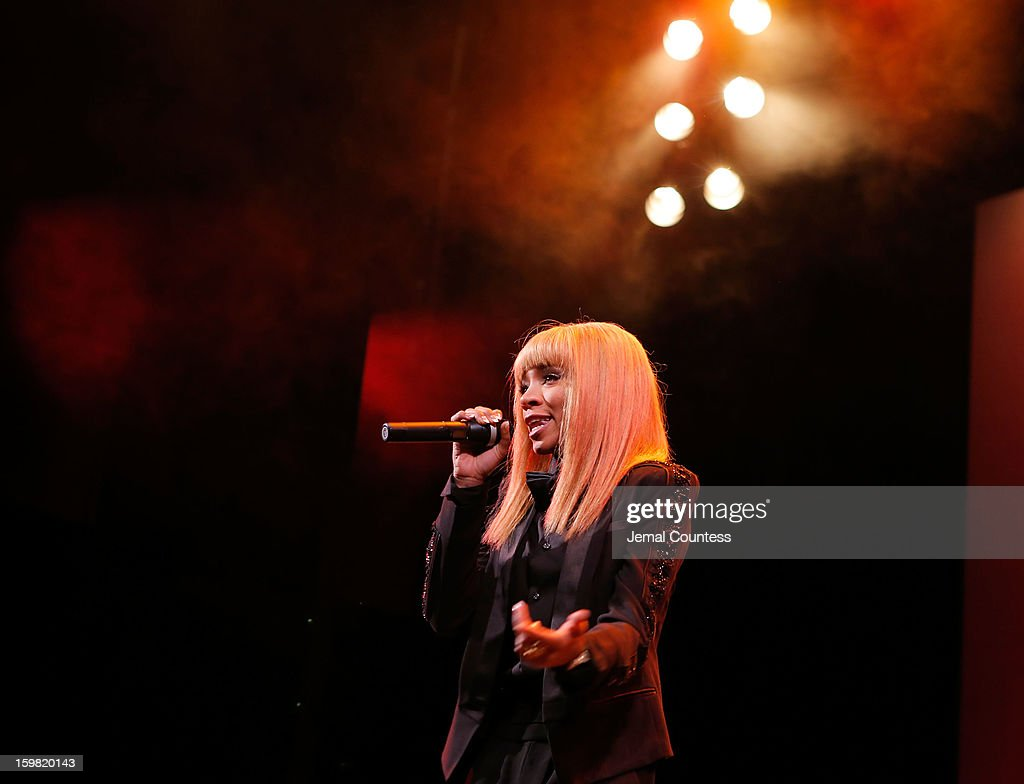 Rapper Lil Mama performs at The Hip-Hop Inaugural Ball II at Harman Center for the Arts on January 20, 2013 in Washington, DC.