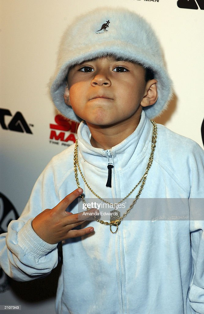 Rapper Lil Maxso arrives at the Smooth Pre-BET party at Club A.D. on June 23, 2003 in Los Angeles, California.