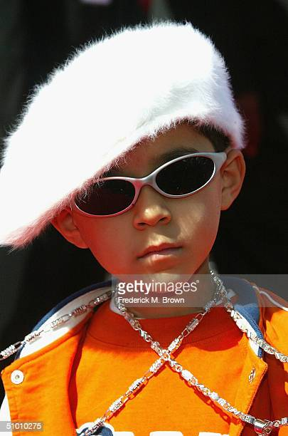 Rapper Lil Maxso attends the 2004 Black Entertainment Awards held at the Kodak Theatre on June 29 2004 in Hollywood California