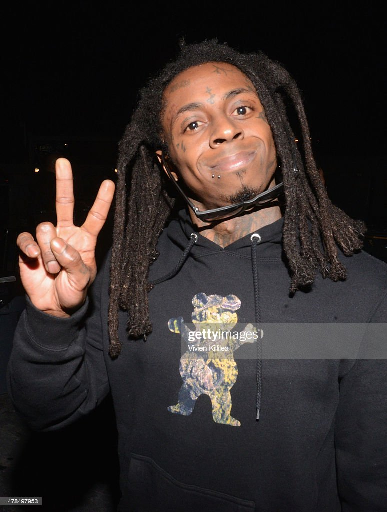 Rapper Lil Wayne attends the 2014 mtvU Woodie Awards and Festival on March 13 2014 in Austin Texas