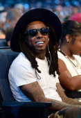 Rapper Lil Wayne attends the BET AWARDS '14 at Nokia Theatre LA LIVE on June 29 2014 in Los Angeles California