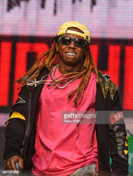 Rapper Lil Wayne performs onstage at Hot 1079 Birthday Bash ATL Pop Up Edition at Philips Arena on June 17 2017 in Atlanta Georgia