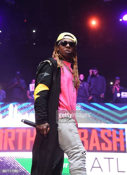 Rapper Lil Wayne performs onstage at Hot 1079 Birthday Bash Pop Up Edition at Philips Arena on June 17 2017 in Atlanta Georgia