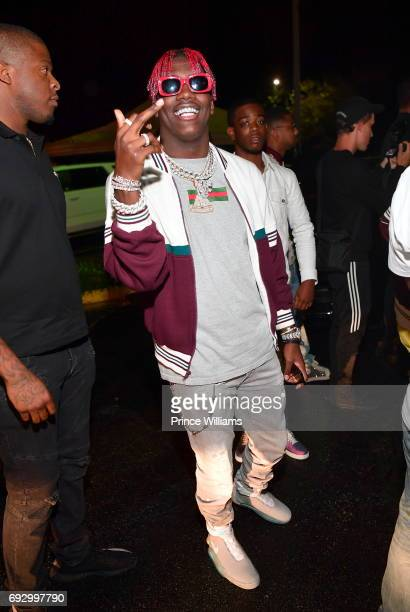 Rapper Lil Yachty attends Pierre 'Pee' Thomas Birthday celebration at Gold Room QC Grand Casino on June 6 2017 in Atlanta Georgia
