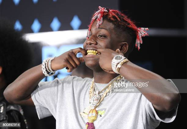 Rapper Lil Yachty attends the 2017 BET Awards at Microsoft Theater on June 25 2017 in Los Angeles California