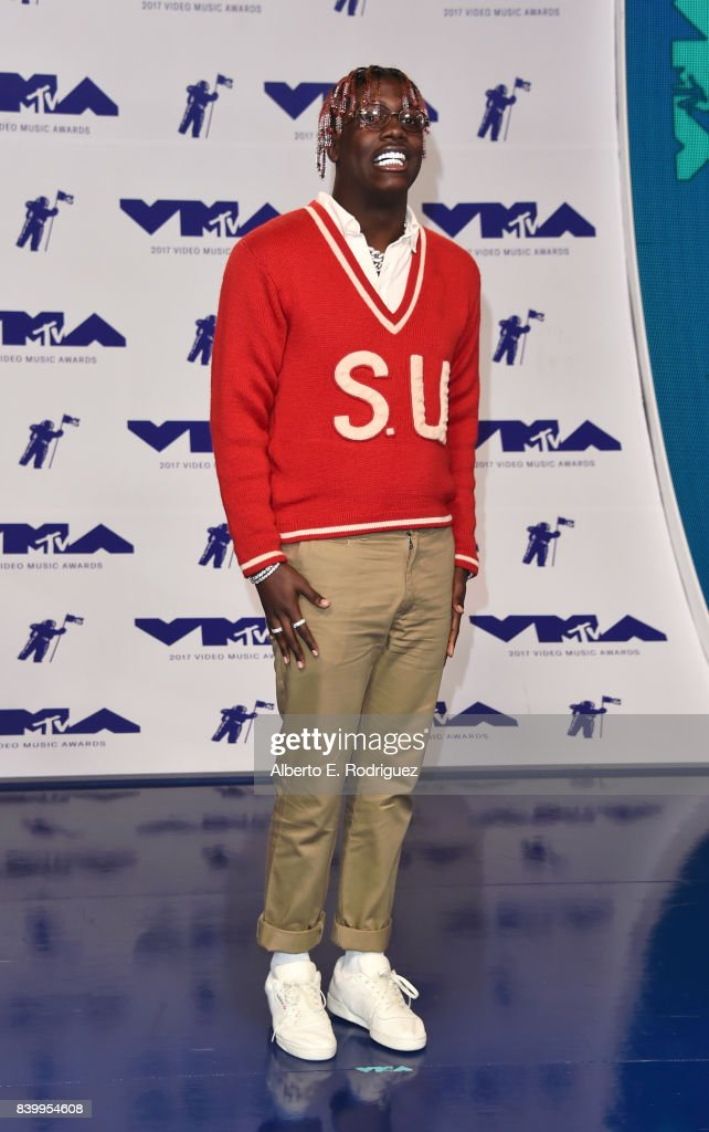 Rapper Lil Yachty attends the 2017 MTV Video Music Awards at The Forum on August 27, 2017 in Inglewood, California.
