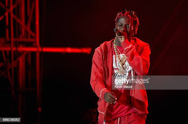 Rapper Lil Yachty performs onstage during the 2016 Budweiser Made in America Festival at Benjamin Franklin Parkway on September 4 2016 in...