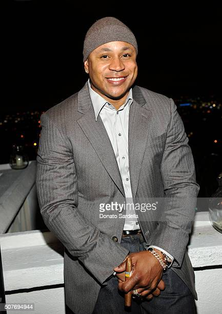 Rapper LL Cool J attends A Toast To Regina King Hosted By Revolt Entertainment SnapStyle at Chateau Marmont on January 30 2016 in Los Angeles...