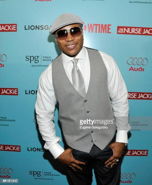 Rapper LL Cool J attends the premiere of 'Nurse Jackie' at the Directors Guild Theatre June 2 2009 in New York City