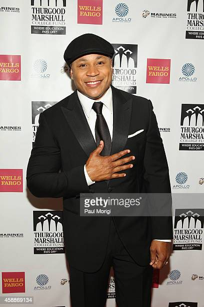 Rapper LL Cool J attends the Thurgood Marshall College Fund 26th Awards Gala at Washington Hilton on November 12 2014 in Washington DC