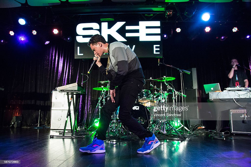 Rapper Logic Performs For SKEE Live At The Conga Room At L.A. Live On  November 5