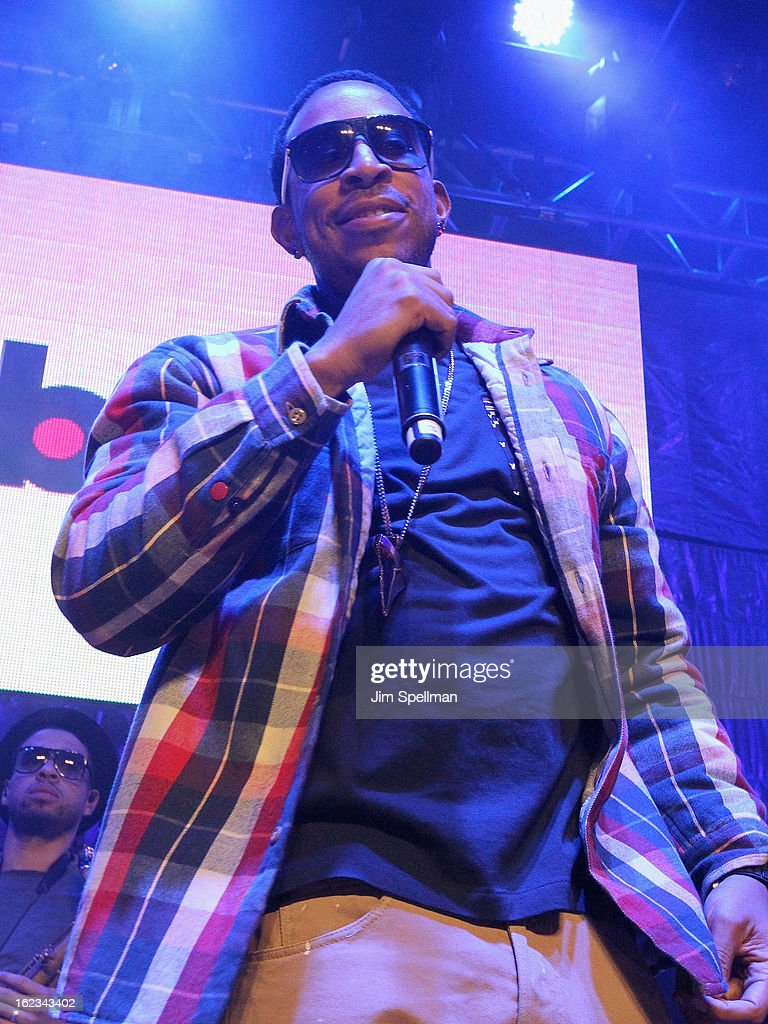 Rapper Ludacris attends The New Billboard Launch Event at Stage 48 on February 21, 2013 in New York City.