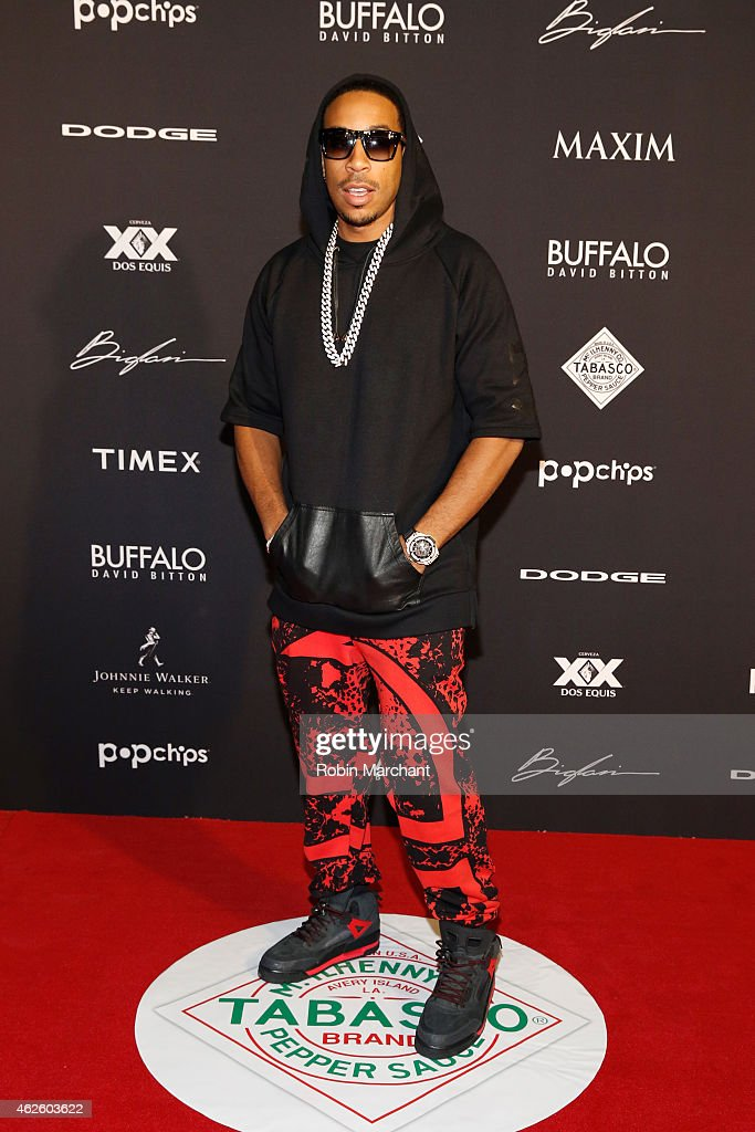 Rapper <a gi-track='captionPersonalityLinkClicked' href=/galleries/search?phrase=Ludacris&family=editorial&specificpeople=203034 ng-click='$event.stopPropagation()'>Ludacris</a> celebrates bold moments with Tabasco at the MAXIM Party on January 31, 2015 in Phoenix, Arizona.