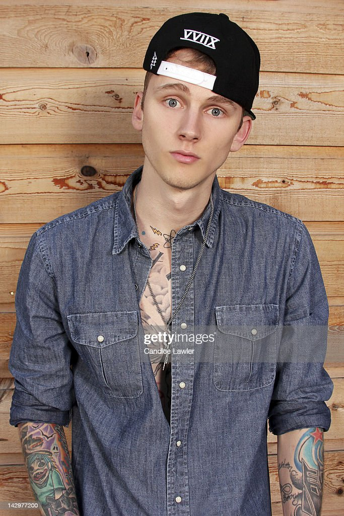 Rapper Machine Gun Kelly, also known as MGK, is photographed for BET.com on March 15, 2012 in Austin, Texas. PUBLISHED