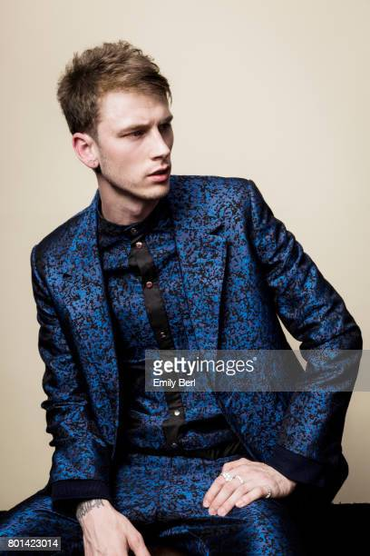 Rapper Machine Gun Kelly is photographed for VSCO on May 21 2017 in Las Vegas Nevada