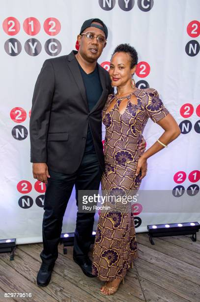 Rapper Master P and DJ Belinda Becker attend the 9th Annual 212NYC Summer Party at Pier 16 on August 10 2017 in New York City