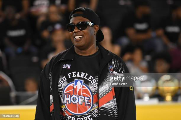 Rapper Master P at 2017 Essence Festival Celebrity Charity Basketball Game at Xavier University Convocation Center on June 29 2017 in New Orleans...