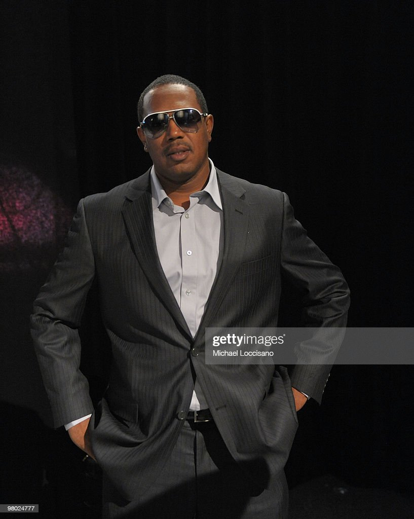 Rapper Master P visits BET's '106 & Park' at BET Studios on March 24, 2010 in New York City.