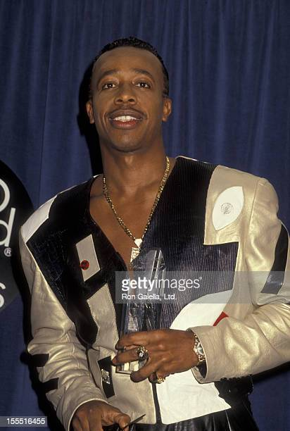Rapper MC Hammer attends First Annual Billboard Music Awards on November 26 1990 at the Barker Hanger at Santa Monica Airport in Santa Monica...