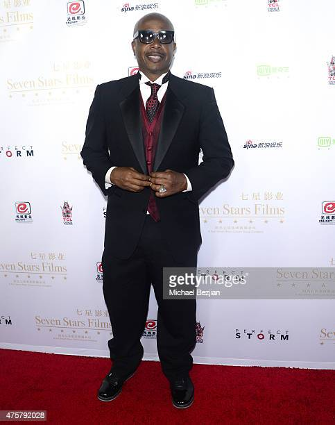 Rapper MC Hammer poses for portrait at Bruno Wu and Seven Stars Entertainment Sponsor TCL Chinese Theatre Handprints For Director Justin Lin And...