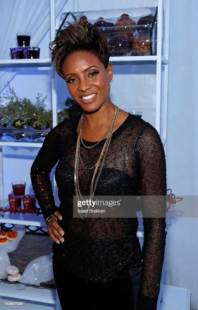 Rapper MC Lyte arrives at the Glade Suite at the Soul Train Awards 2012 at PH Live at Planet Hollywood Resort & Casino on November 8, 2012 in Las Vegas, Nevada.