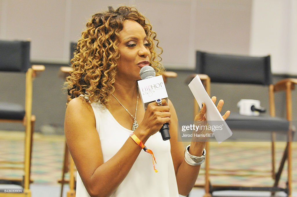 Rapper MC Lyte speaks during Women, Wealth, and Relationships presented by HIP HOP SISTERS during the 2016 BET Experience on June 25, 2016 in Los Angeles, California.