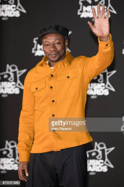 Rapper MC Solaar attends the 19th 'NRJ Music Awards' ceremony on November 4 2017 in Cannes France