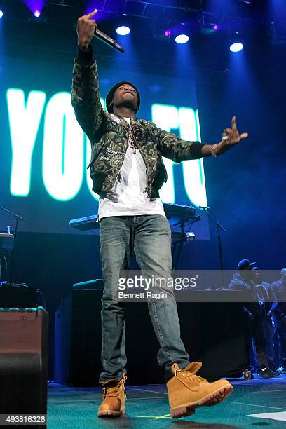 Rapper Meek Mill performs onstage during 1051's Powerhouse 2015 at the Barclays Center on October 22 2015 in Brooklyn NY