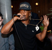 Rapper Memphis Bleek performs at the Baron Tequila Launch Party at Butter Restaurant on November 19 2013 in New York City
