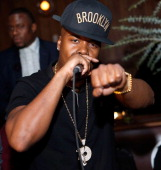 Rapper Memphis Bleek performs at the Tequila Baron Launch Party at Butter Restaurant on November 19 2013 in New York City