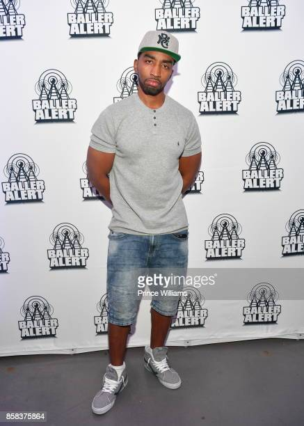 Rapper Mysonne attends Baller Alert's Bowl with a Baller at Basement Bowl on October 5 2017 in Miami Florida