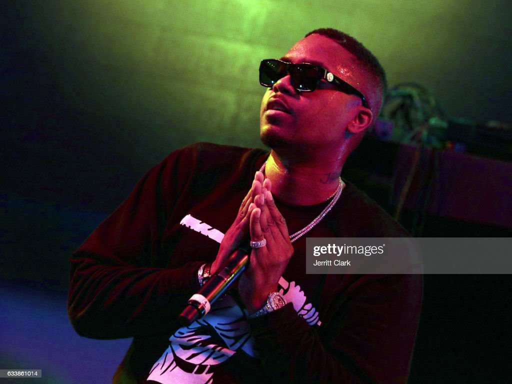 Rapper Nas performs at the Rolling Stone Live: Houston presented by Budweiser and Mercedes-Benz on February 4, 2017 in Houston, Texas. Produced in partnership with Talent Resources Sports.
