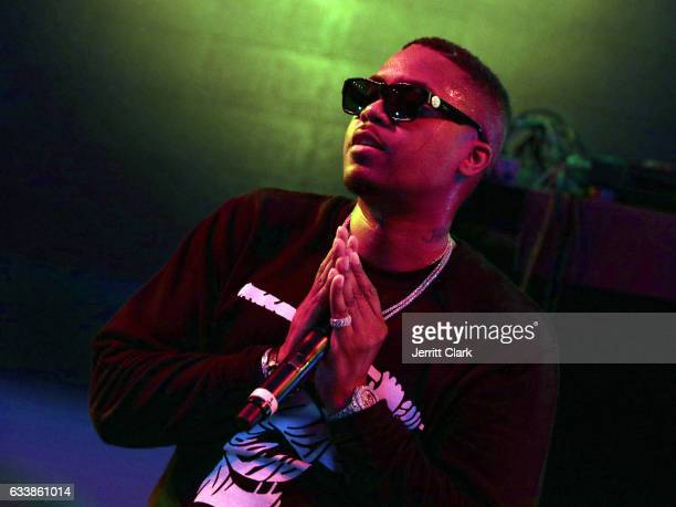 Rapper Nas performs at the Rolling Stone Live Houston presented by Budweiser and MercedesBenz on February 4 2017 in Houston Texas Produced in...