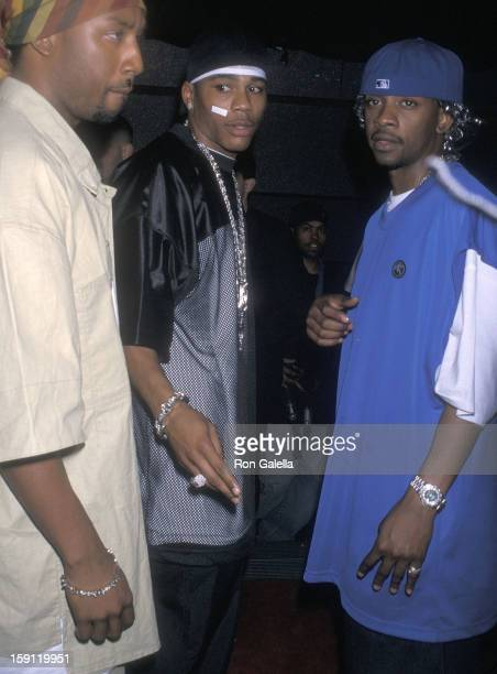 Rapper Nelly attends Derek Jeter's 27th Birthday Party on June 27 2001 at the World Nighclub in New York City