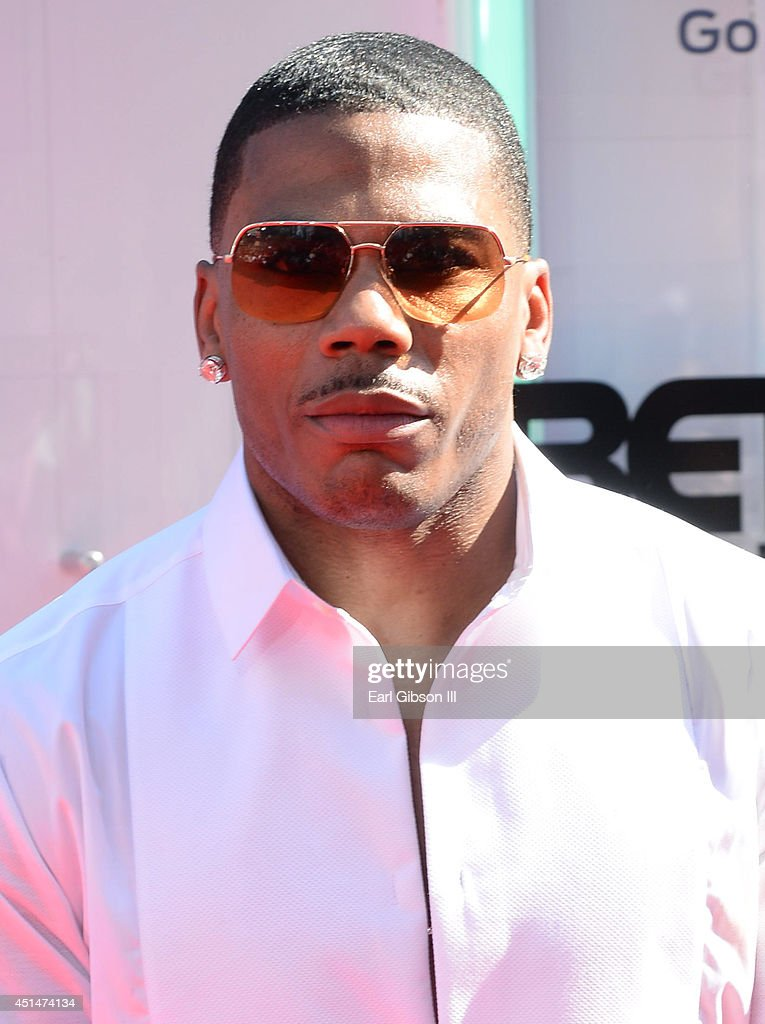 Rapper Nelly attends the BET AWARDS '14 at Nokia Theatre L.A. LIVE on June 29, 2014 in Los Angeles, California.