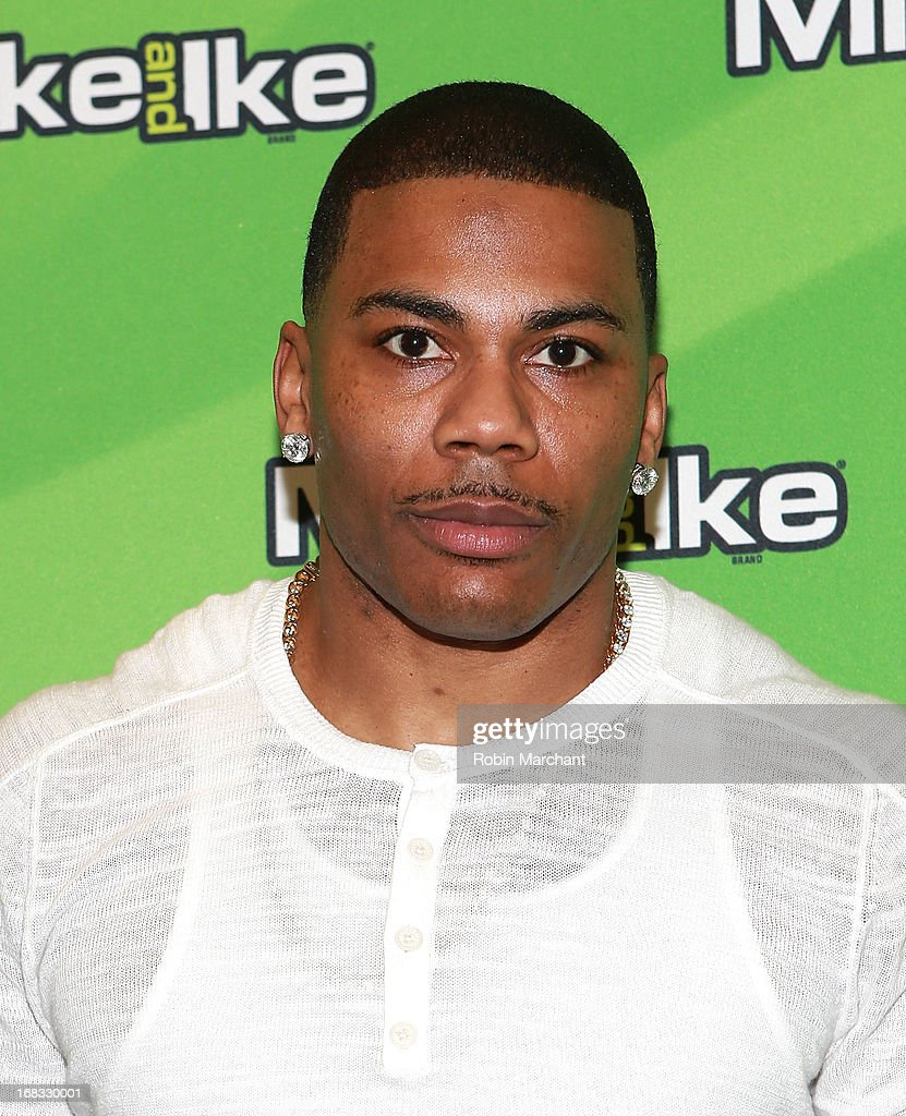 Rapper Nelly attends 'The Return of Mike and Ike' VIP party and special screening at Tribeca Cinemas on May 8 2013 in New York City