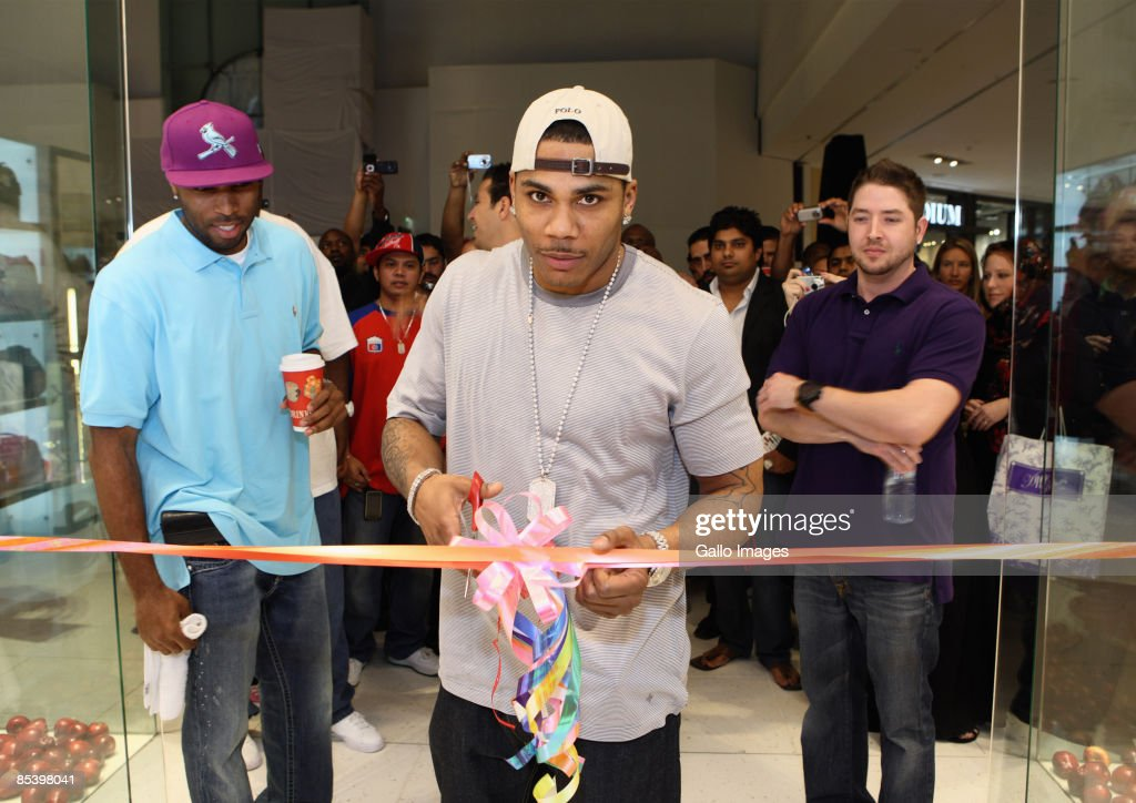 Rapper Nelly Opens Dubai Jeans Store Photos and Images | Getty Images