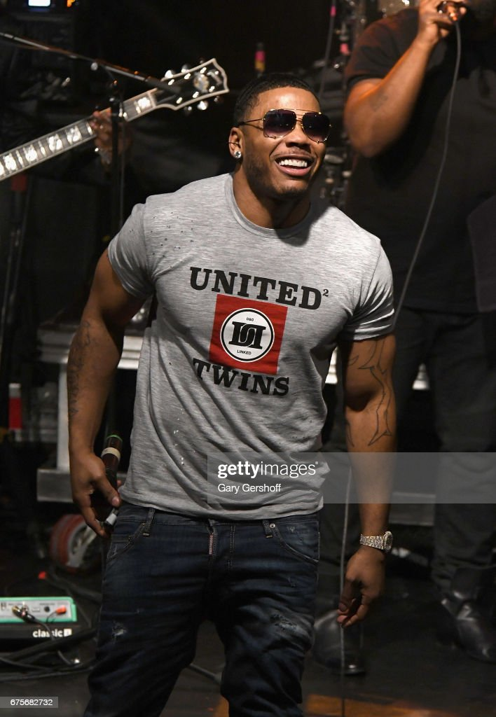 Rapper Nelly performs live on stage with The Roots during National Concert Day 2017 at Irving Plaza on May 1, 2017 in New York City.