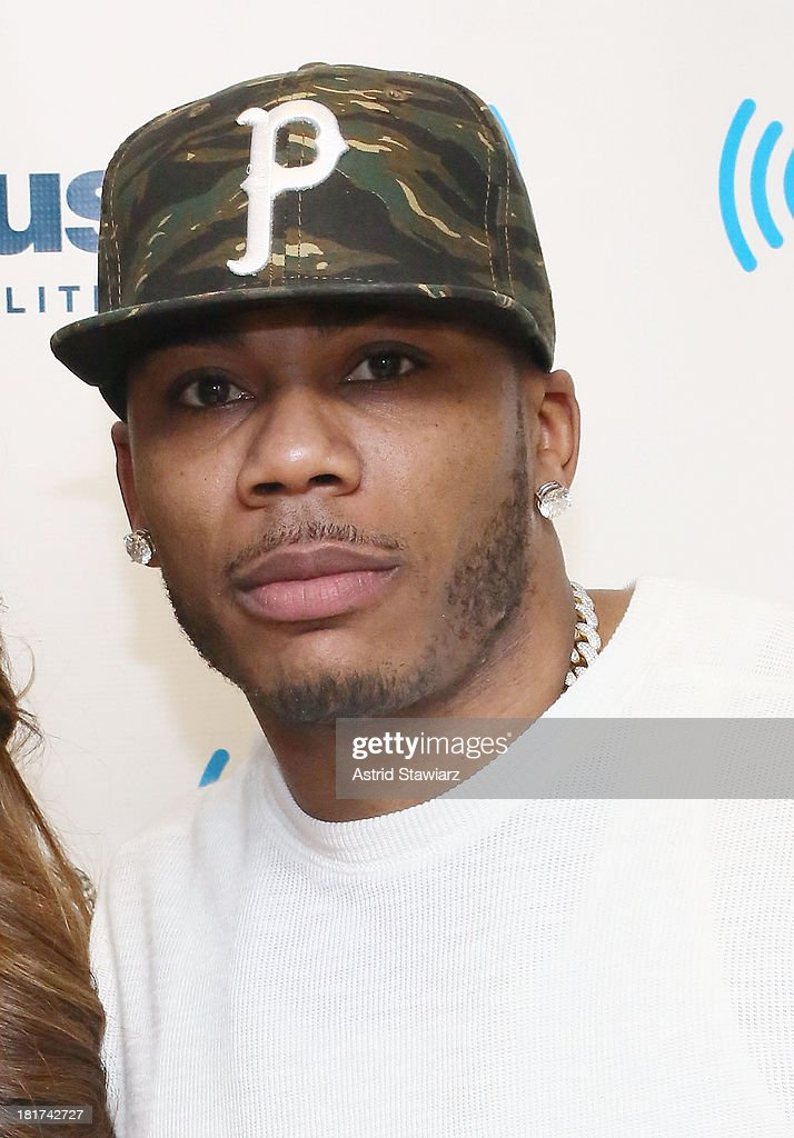 Rapper Nelly visits the SiriusXM Studios on September 24, 2013 in New York City.