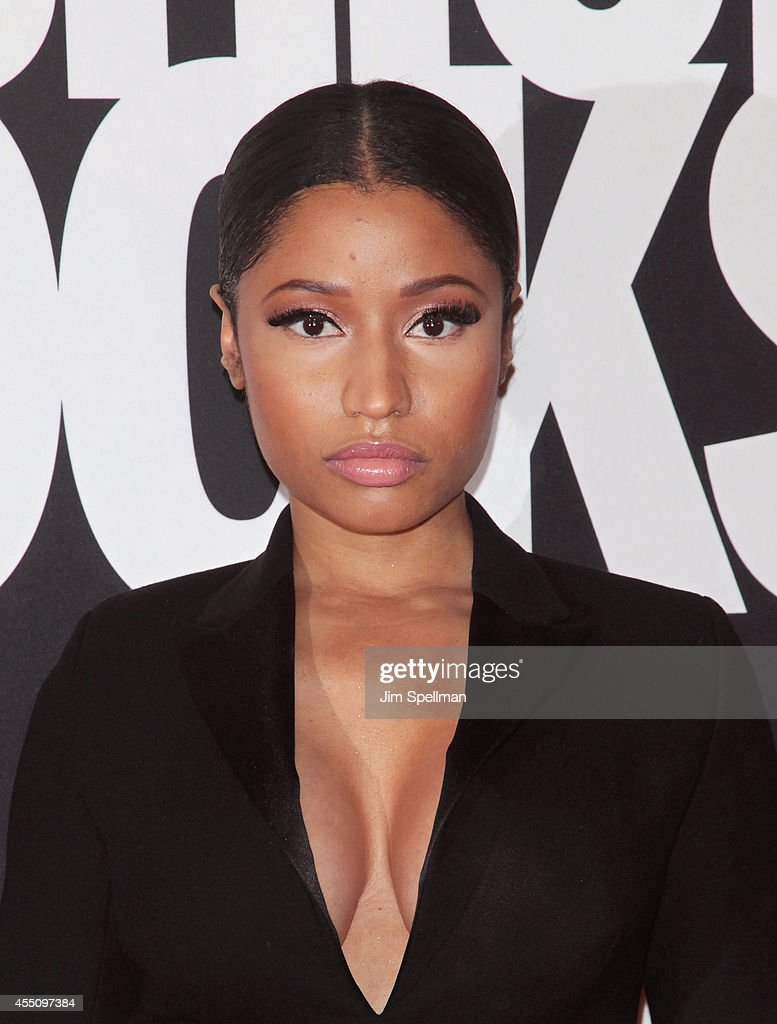 Rapper Nicki Minaj attends Fashion Rocks 2014 at Barclays Center on September 9 2014 in the Brooklyn borough of New York City