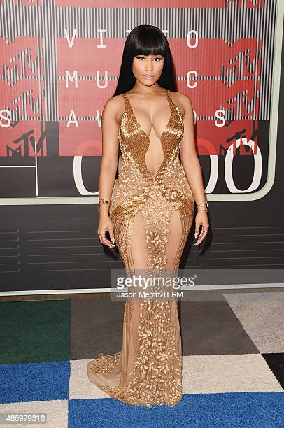 Rapper Nicki Minaj attends the 2015 MTV Video Music Awards at Microsoft Theater on August 30 2015 in Los Angeles California