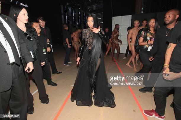Rapper Nicki Minaj attends the 2017 Billboard Music Awards at TMobile Arena on May 21 2017 in Las Vegas Nevada