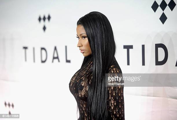 Rapper Nicki Minaj attends TIDAL X 1015 on October 15 2016 in New York City