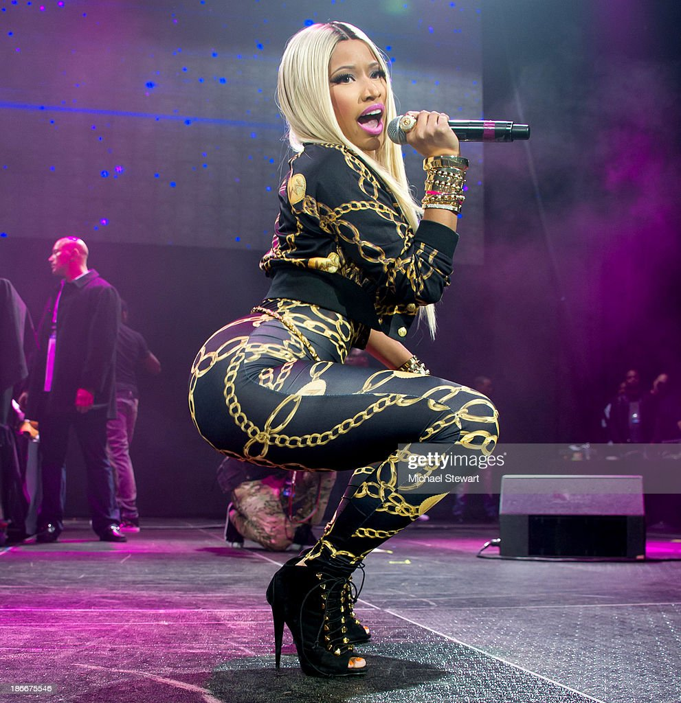 Rapper Nicki Minaj performs during Power 105.1 Powerhouse 2013 at Barclays Center on November 2, 2013 in the Brooklyn borough of New York City.