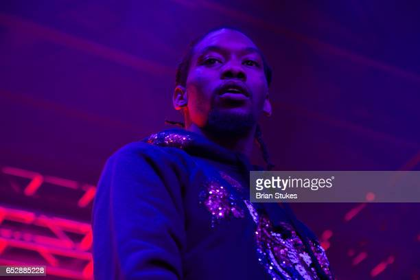 Rapper Offset performing at Echostage on March 12 2017 in Washington DC