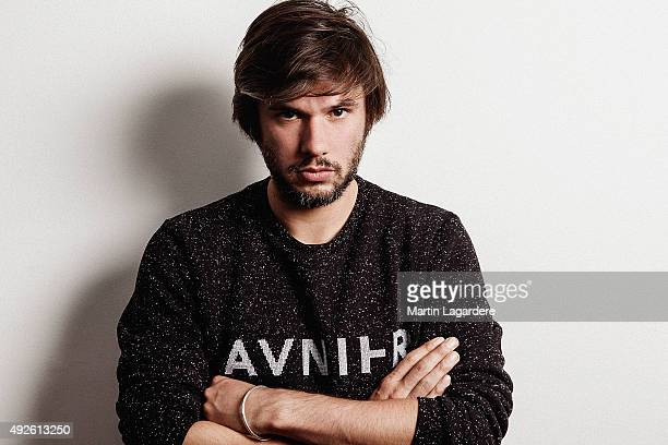 Rapper Orelsan is photographed for Self Assignment on October 5 2015 in Saint Jean de Luz France