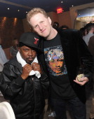 Rapper Phife Dawg of A Tribe Called Quest and actor Michael Rappaport attend 'Beats Rhymes Life' with filmmaker dinner at Imperial by Sam Talbot...