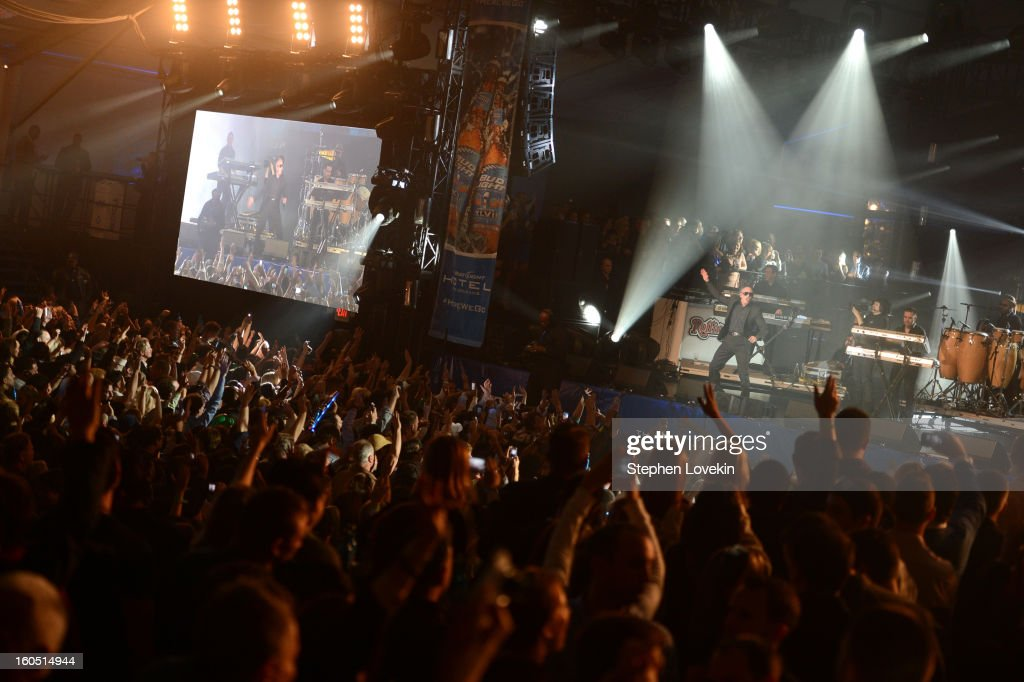 Rapper Pitbull performs onstage at the Rolling Stone LIVE party held at the Bud Light Hotel on February 1, 2013 in New Orleans, Louisiana.
